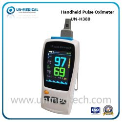 UN-H380 1 oder 3 Sensoren Erwachsene Kinder SpO2 Pr Temp 3 Parameter Handgerät Pulsoximeter mit Ce