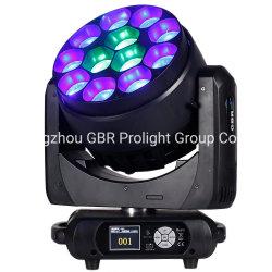 جودة جيدة! ضوء بيان LED للزووم عالي القدرة 12× 40 واط مع الغسيل للرأس المتحرك للمصباح مرحلة الغاسلة