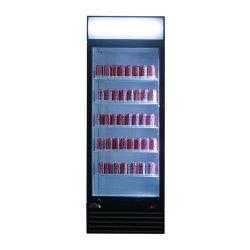 Напитков охладитель прилавок-витрина ОДНОГО СТЕКЛА ДВЕРИ Merchandiser холодильник