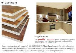 Cheap Like-Wood Absorption acoustique plafond PVC résistant au feu d'administration