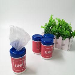 Boîte de marque OEM Mini tissu humide pour le nettoyage