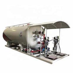 10La GAC Skid-Mounted automatique de la station de remplissage de gaz GPL Usine de remplissage de patin