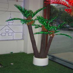 美しいLEDのココヤシの木の木ランプの景色ライト