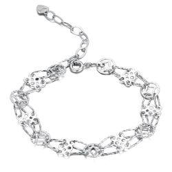 بالجملة نمو مجوهرات جديدة تصميم 925 فضة سوار [جولّري] لأنّ ترقية هبة