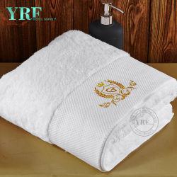 Fabricado na China a roupa de cama Five-Star Hotel confortável com logotipo da absorção de água toalha de praia