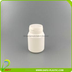 35ml plástico PE Candy píldora vitamina botella con tapa de lagrimeo