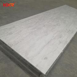 Pietra artificiale solida dello strato di superficie del reticolo d'imitazione di pietra di marmo di Kkr per il comitato di parete