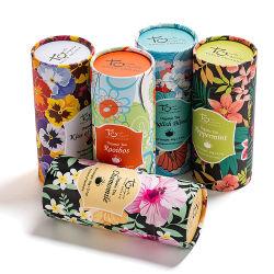 2019 Novo Estilo de Rótulo personalizado papel amigável do tubo de embalagem