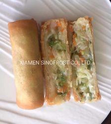동결된 야채 스프링롤, 언 스프링롤, 언 딤섬, 손으로 집어먹는 음식, 아시아 음식, 동양 음식