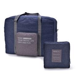 Прочный водонепроницаемый большой емкости Oxford Bag складные легкие поездки багаж Duffel Bag с молнией