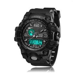 Nueva moda High-Grade Deportes impermeable Men's Watch condujo al aire libre la mujer Relojes de Pulsera para regalo (JY-AL03)