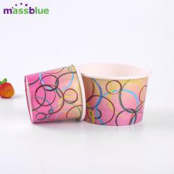 Paquet de papier de crème glacée, crème glacée de conteneurs de papier