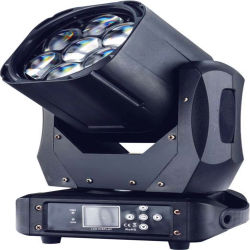 LED profissional 7*40W 4NO1 movendo cabeça de lavagem do feixe de luz