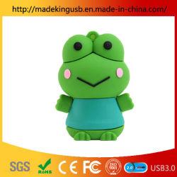 محرك أقراص USB Frog Frog Frog/Small Frog ناعم مطاطي