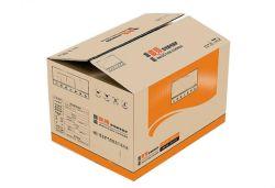 Печать цветной гофрированной упаковки бумаги картонная коробка рифленого питателя