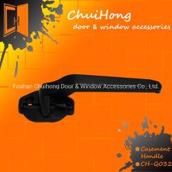 Haute qualité, revêtement de poudre de zinc de gros de la peinture de la poignée de verrouillage de vitre de porte (#Q032)