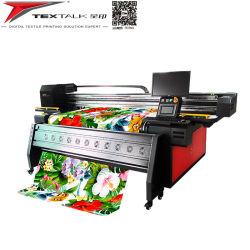 Tintas de pigmento en tejido de algodón de la máquina de impresión digital textil