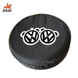 Пользовательские ниши для запасного колеса охватывает 13 дюйма 14 дюйма 15-дюймовый черный ВНЕДОРОЖНИК ПВХ крышки запасного колеса