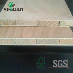 高品質の自然なベニヤおよびメラミンペーパー表面Blockboardかブロックのボード