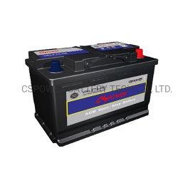 Cspower nachladbare Autobatterie 12V 70ah mit 2 Jahren Garantie-
