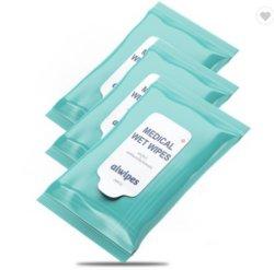 Nettoyage de lentille/verres jetables Lingettes humides/tissus/serviettes et de la caméra de l'écran