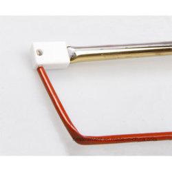 De enige Infrarode Lamp van het Halogeen van de Buis met Gouden Reflector