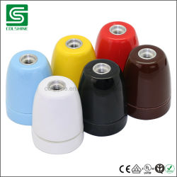 Porzellan-keramischer Lampen-Halter-Birnen-Halter der Weinlese-E27/E14