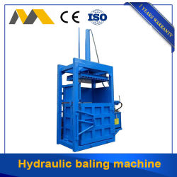 Pressa per balle idraulica verticale per le lane/macchina idraulica della pressa-affastellatrice dello scarto