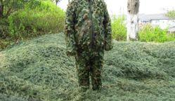 フィールドHideの衣類/隠しだてのGhillieの軍の戦術的なスーツの戦術的なベスト