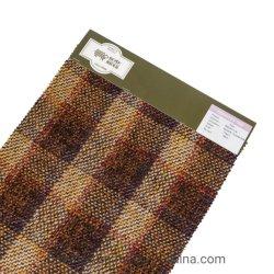 La moda al por mayor Popular hilado teñido de tejido de rollo de cuadros escoceses para ropa