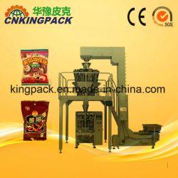 Grand granulaire verticale automatique de pesage et de machine d'emballage quantitative