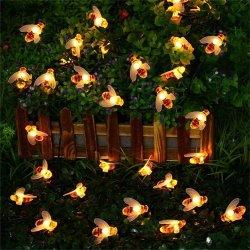 Indicatori luminosi artificiali della stringa dell'ape LED della decorazione esterna del fornitore della Cina