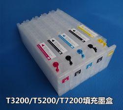 Картридж с черными чернилами многоразового использования для Surecolor T3000/T5000/T7000 1200 мл с чипом Resetterlong сосуды картридж Epson