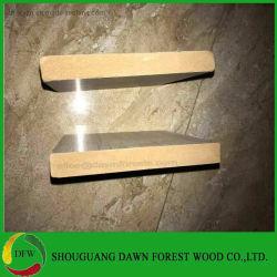 木の浮彫りにされた18mmはMDF/Melamineによって直面されたMDFを薄板にした
