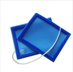 Silicona Vidrio blanco bolsa de vacío de vidrio laminado EVA