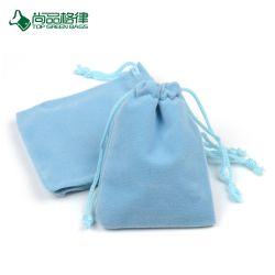 Personnaliser le commerce de gros cadeaux Promotion de haute qualité flanelle Paquet de velours sac