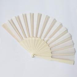 Het met de hand gemaakte Geassorteerde Van de Bedrijfs prijs van de Fabriek van de Hoeveelheid van het Ontwerp Kleine Blauwe Plastiek die van de Gift Ventilator van de Hand van de Druk van de Stof van de Stok de Plastic vouwen