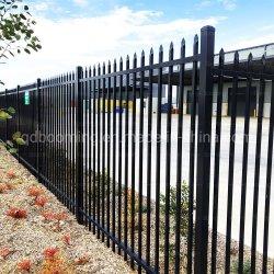 Galvanisiertes schwarzes Puder-überzogenes Sicherheits-Garten-Zaun-Stahlpanel