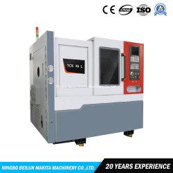 자동적인 고속 높은 정밀도 기울기 침대 선형 Guid 가로장 금속 절단 CNC 선반 기계