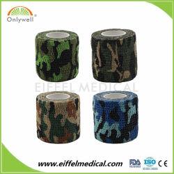Camuflaje de médicos de ortopedia impermeable elástica cinta coherente