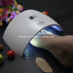 Séchage rapide CCFL 24W à LED Lampe UV de gros clous