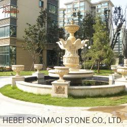 Jardim grande pássaro de decoração em mármore Pedra Statuesl fontes de água