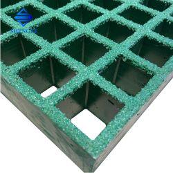 El FRP Pasarela de la plataforma de rejilla de malla de fibra de vidrio de piso Mini Piscina producto cuadrícula antideslizamiento