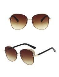 نظارات شمسية أنيقة من تصميم كوري من تصميم Unisex مع نظارات شمسية للحماية من الأشعة فوق البنفسجية الجملة المباشرة
