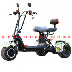 Elevador eléctrico de bicicletas eléctricas aluguer de scooter Scooters Motociclo eléctrico com assentos duplos
