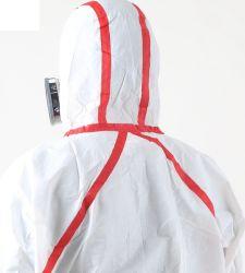 Vêtements de protection jetables étanches EPI de la sécurité de travail de jeter le papier de la peinture La peinture de salopettes, étanche PPE salopettes, des vêtements de sécurité globale
