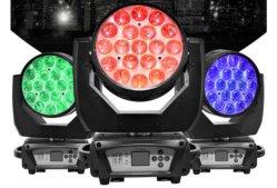 19X15W RGBW 4in1 Zoom Beam Wash Light LED bewegende kop