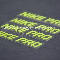 Индивидуальный логотип H-качество 3D на экране рельефная печать силиконового герметика передача тепла этикетки для одежды