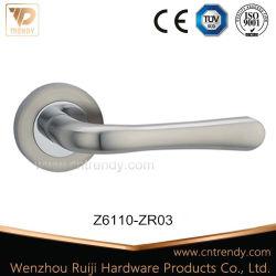 Poignée de verrouillage de porte avec le bouton rond (Z6110-ZR03-CL)