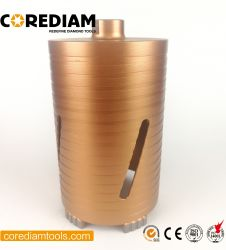 102 mm Diamond Turbo Core Perfure/Ferramenta de Diamante